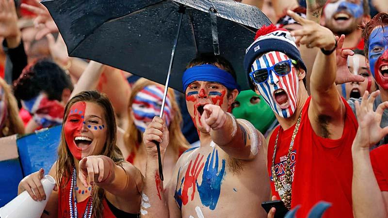 Fans Apuestas Bowls Futbol Universitario