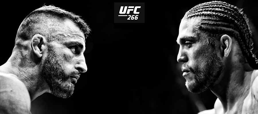 UFC 266 Volkanovski vs Ortega