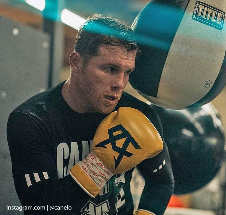 Saúl Canelo Boxeador de México